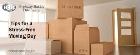 boxes on moving day