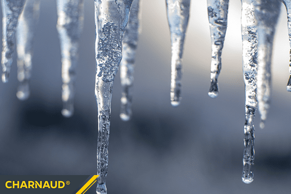 Hanging Ice Drops