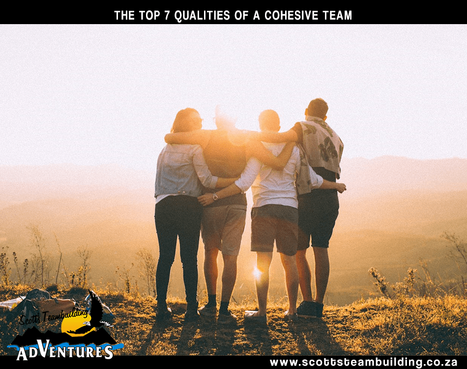 A cohesive team has numerous organisational benefits.